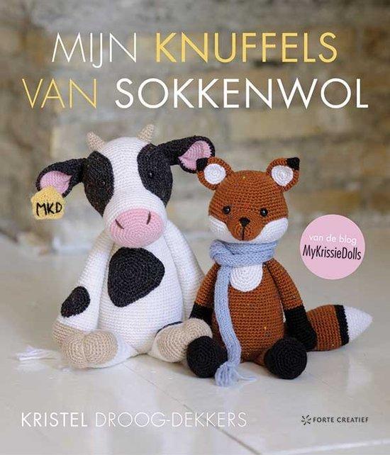 cover mijn knuffels van sokkenwol