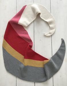 marielle sjaal rood
