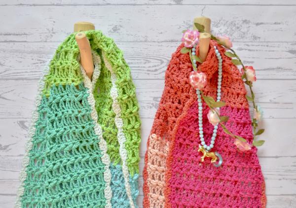 5 kleuren sjaal byclaire