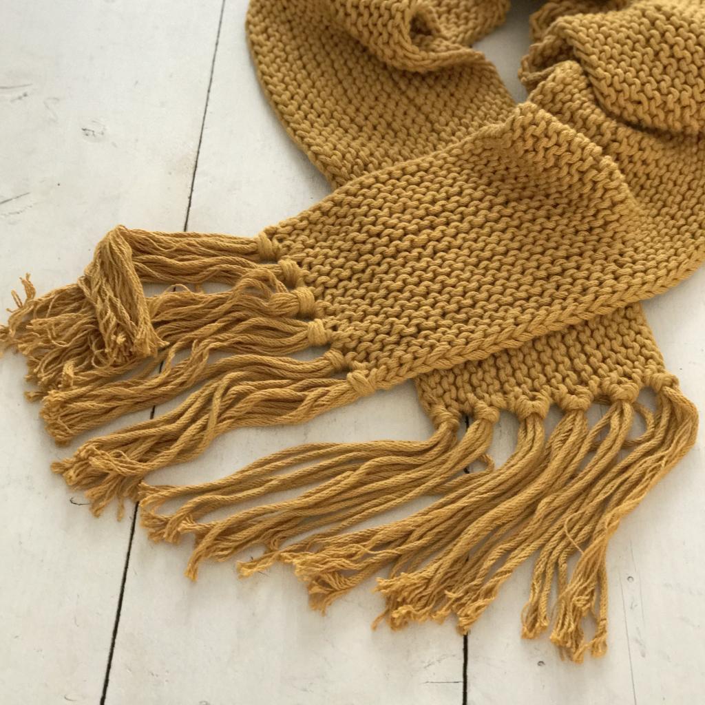 chunky sjaal