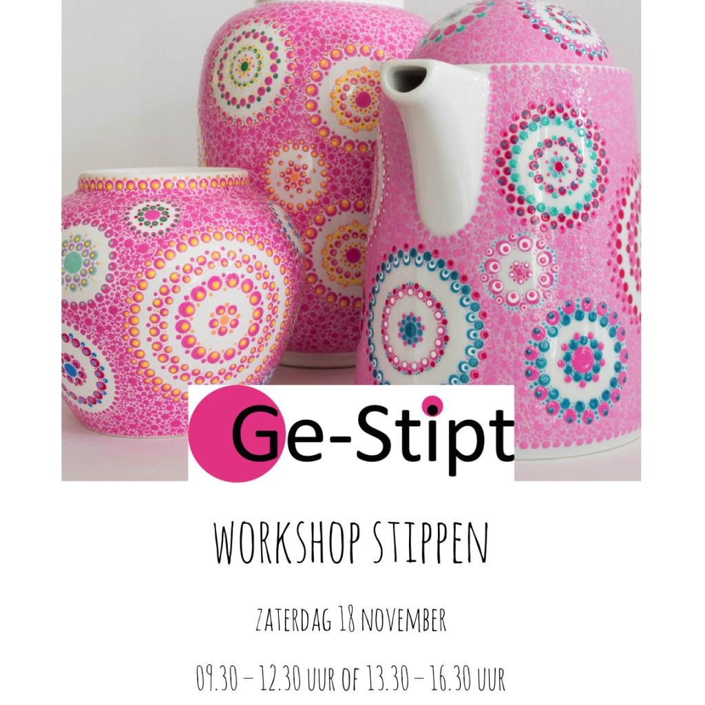 workshop stippen