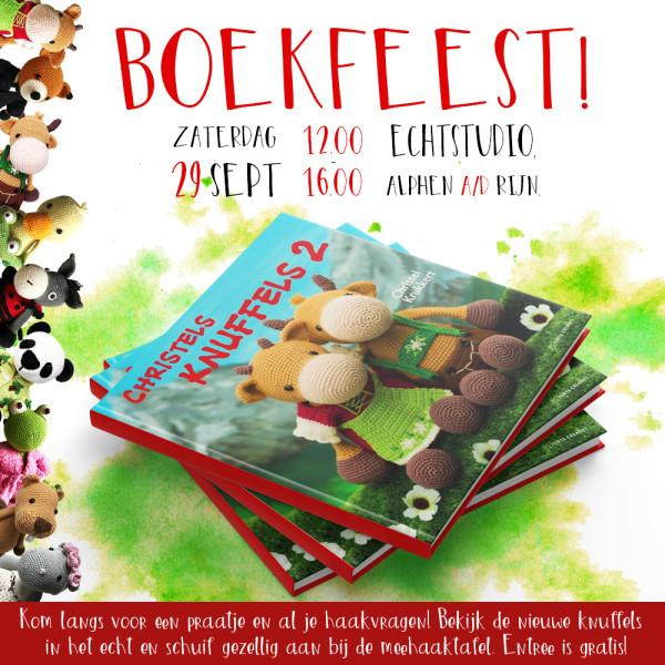 Boekfeest Christel Krukkert