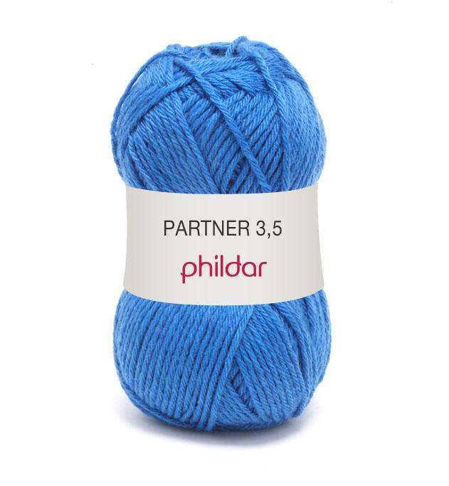 Phildar partner 3,5 025 bleuet