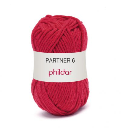 Phildar partner 6 084 rouge