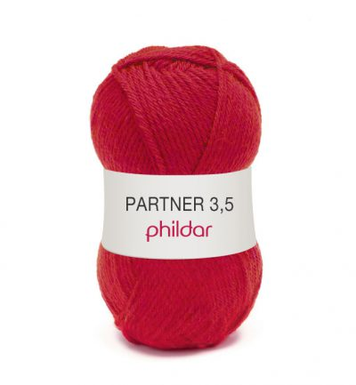 Phildar partner 3,5 102 pavot