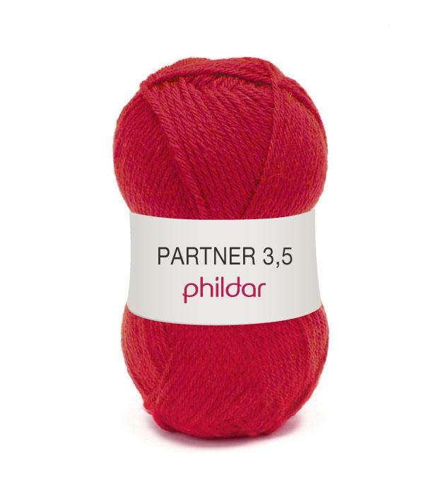 Phildar partner 3,5 102 pavot