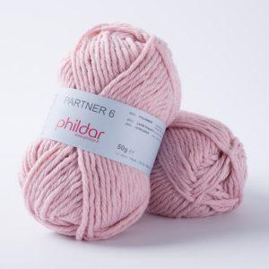 Phildar partner 6 204 rose-14097