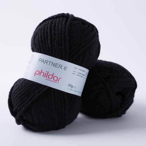 Phildar partner 6 067 noir-14106