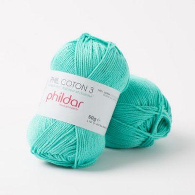 Phildar coton 3 1117 piscine