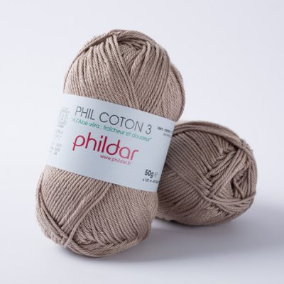 Phildar coton 3 1264 chanvre