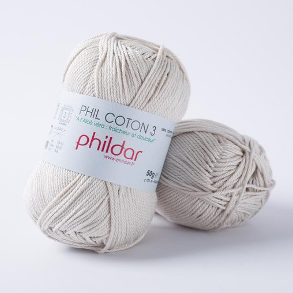Phildar coton 3 1447 perle