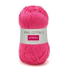 Phildar coton 3 1155 oeillet