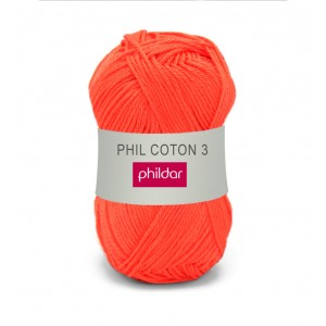 Phildar coton 3 006 vitamine