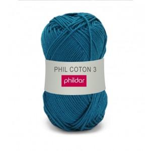 Phildar coton 3 1080 canard