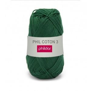 Phildar coton 3 1100 cedre