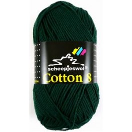 Scheepjes cotton 8 713 donkergroen-779