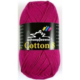 Scheepjes cotton 8 720 fuchsia-784