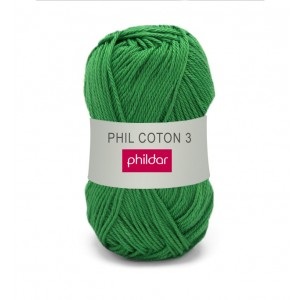 Phildar coton 3 1173 golf