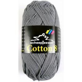 Scheepjes cotton 8 710 grijs-785