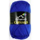 Scheepjes cotton 8 519 kobaltblauw-790