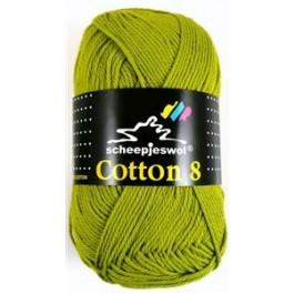 Scheepjes cotton 8 669 olijfgroen-806