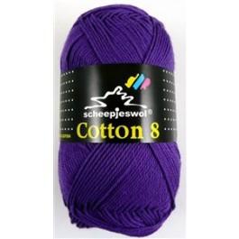 Scheepjes cotton 8 661 paars-808