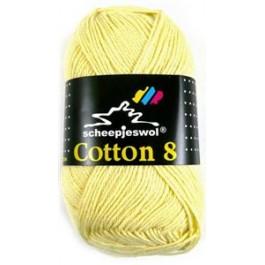 Scheepjes cotton 8 508 zachtgeel-816