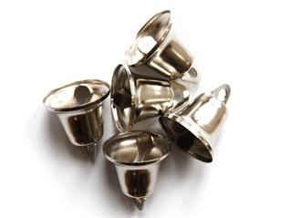 Klokje 20mm nikkel per 5 stuks-0