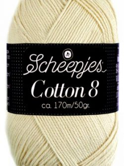 Scheepjes cotton 8 501 naturel