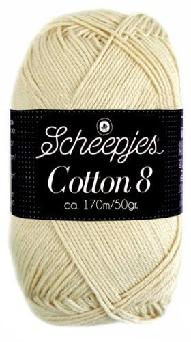 Scheepjes cotton 8 501 naturel