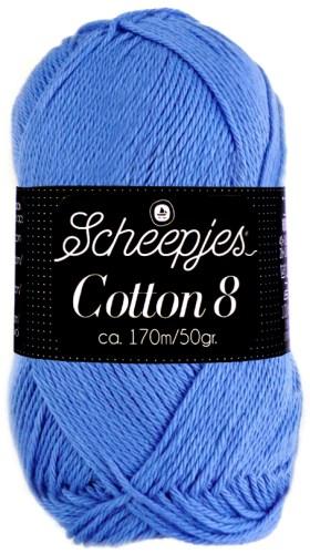 Scheepjes cotton 8 506 lavendel