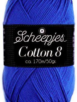 Scheepjes cotton 8 519 kobaltblauw