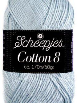 Scheepjes cotton 8 652 grijsblauw