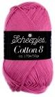 Scheepjes cotton 8 653 donkerroze