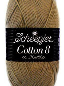 Scheepjes cotton 8 659 lichtbruin