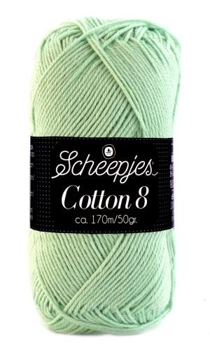 Scheepjes cotton 8 664 pastelgroen