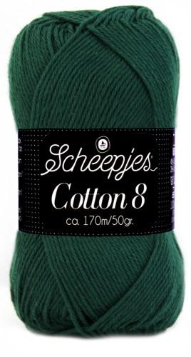 Scheepjes cotton 8 713 donkergroen