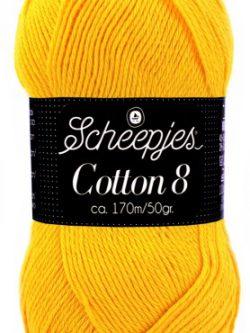 Scheepjes cotton 8 714 eigeel