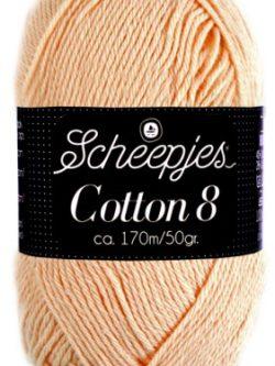 Scheepjes cotton 8 715 zalmroze