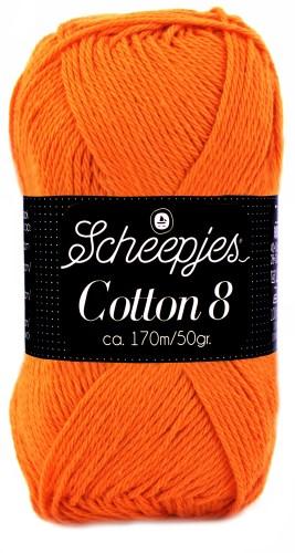Scheepjes cotton 8 716 oranje