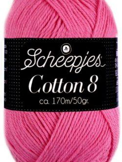 Scheepjes cotton 8 719 roze
