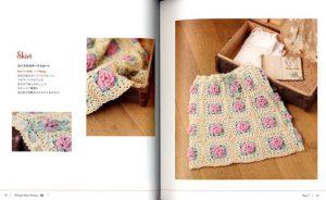 Boek Pretty color crochet part 2-1547