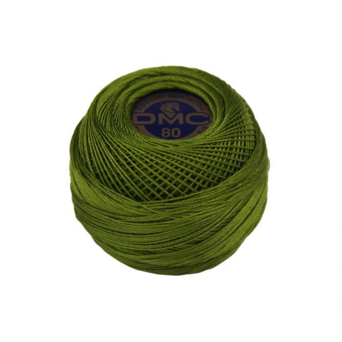 DMC Dentelles 0469 donker mos groen