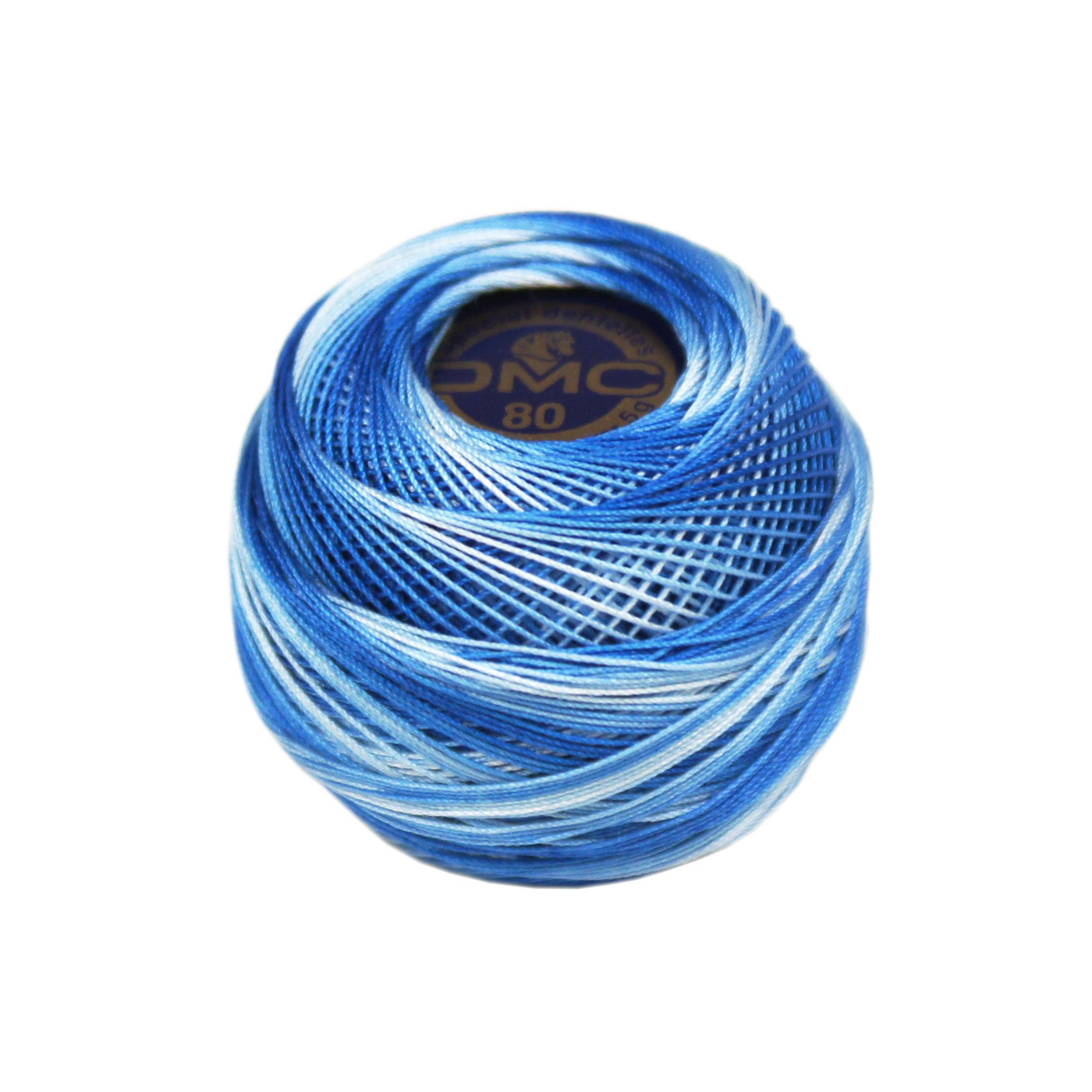 DMC Dentelles 0093 donkerblauw mix