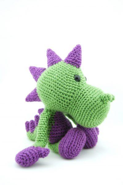 Haakpatroon Puff the Dragon-0