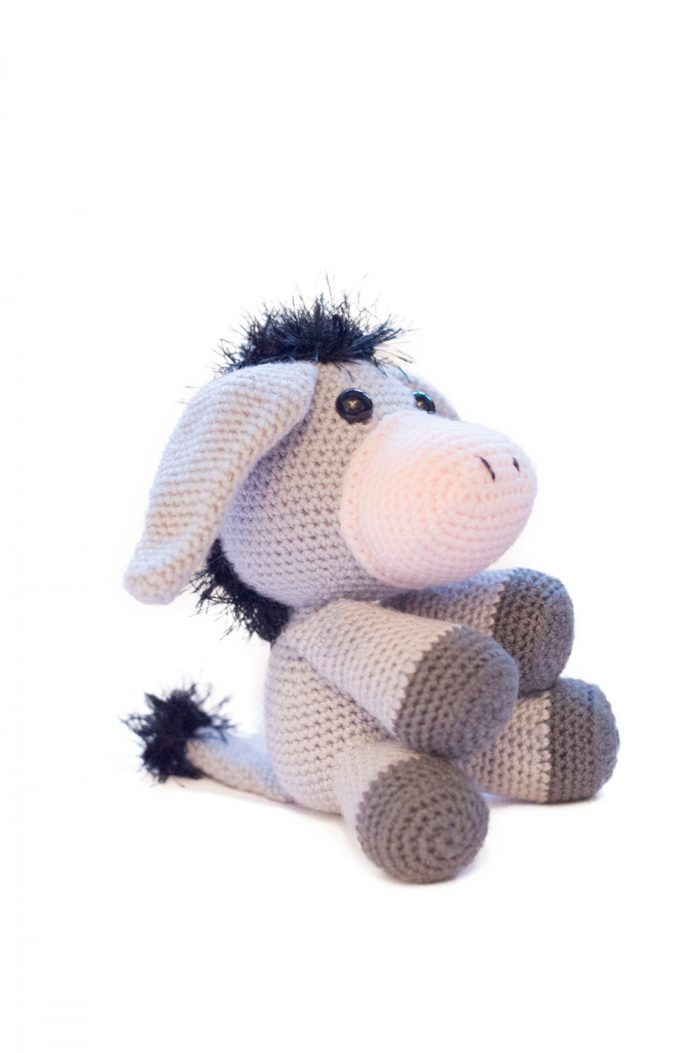 Haakpatroon Duncan the donkey-0