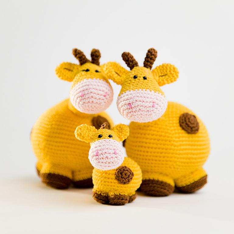 Haakpatroon giraffenfamilie-0