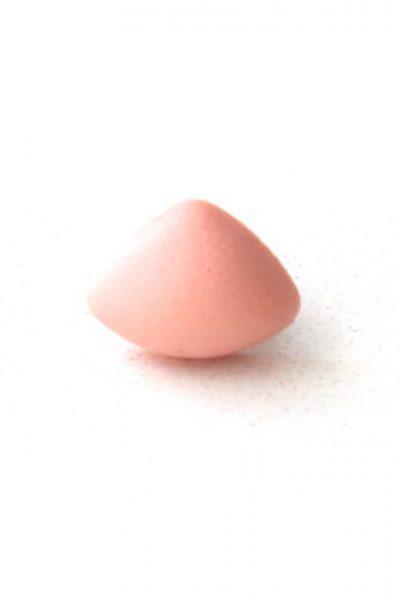 Neus driehoek soft zalmroze per stuk-0