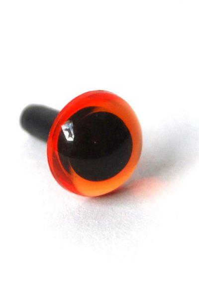 Ogen transparant per paar oranje-0