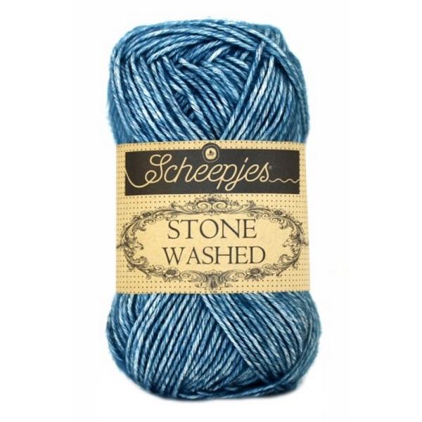 Scheepjes Stone Washed 805 Blue Apatite